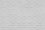 BRICK WALL PAINTED WHITE fusion wall panel