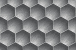 HONEYCOMB CARVE LARGE fusion wall panel
