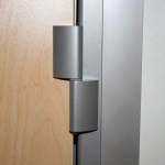 Standard swing door hinge ms-silver finish