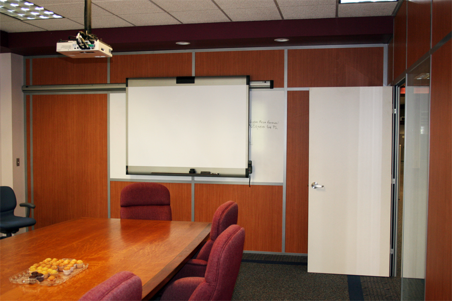 Flex Series Conference Room with Built-in Whiteboard