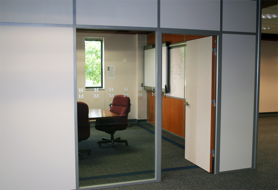 Flex Series HMI Conference Room with Solid Wall Panels