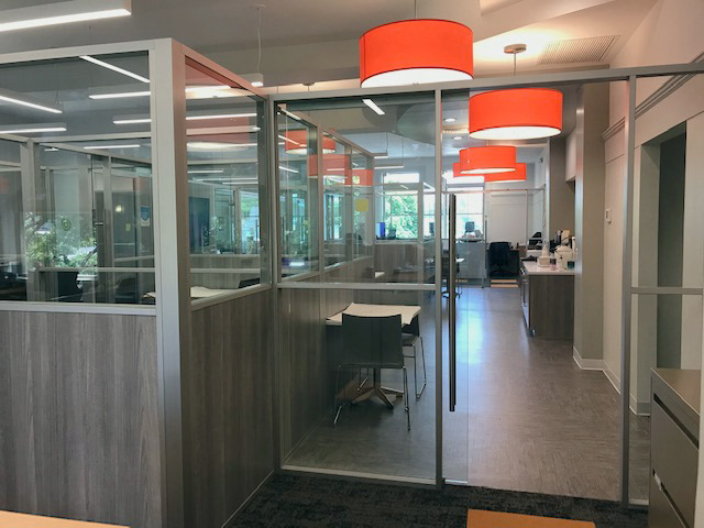 Modular Non-Full Height Demountable Glass and Laminate Offices
