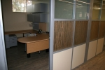3form custom organic pressed glass wall inserts