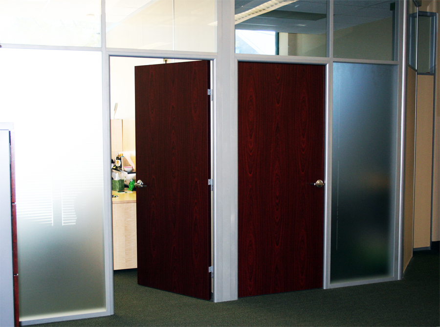 Frosted Glass Fronts