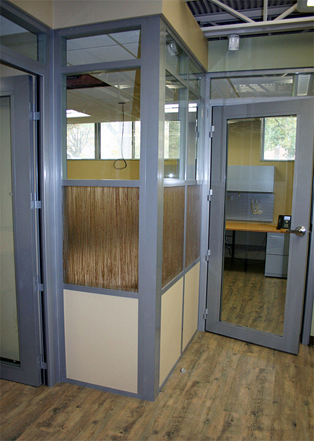 NxtWall movable walls with designer 3form wall panel inserts