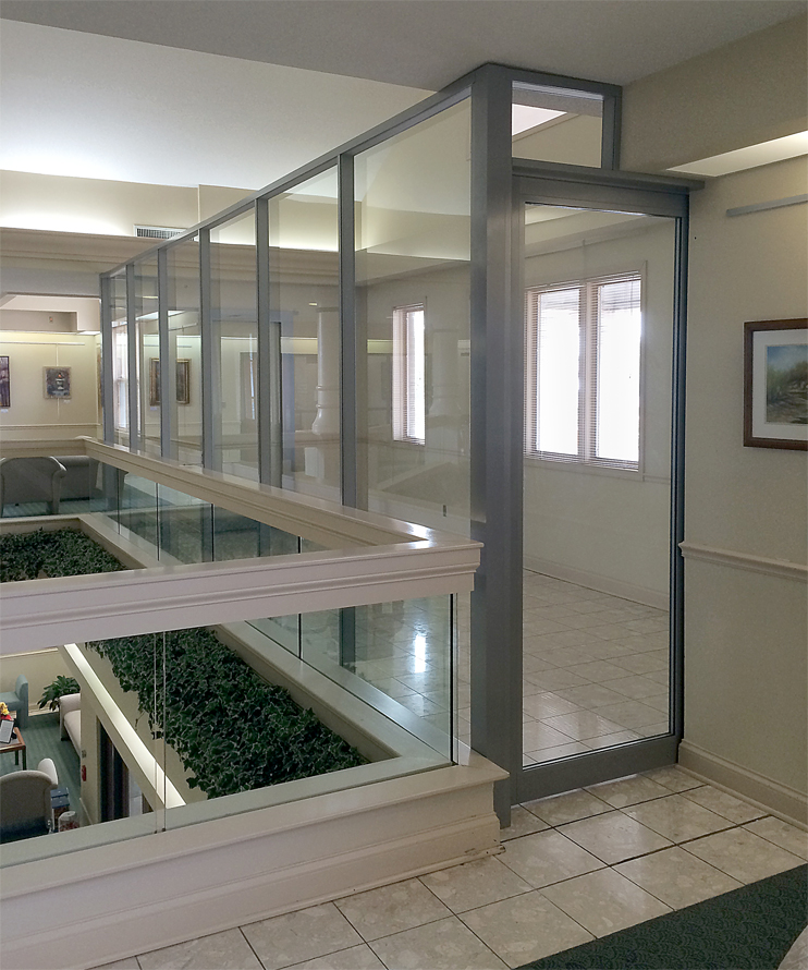 Nxtwall for Sliding glass walls