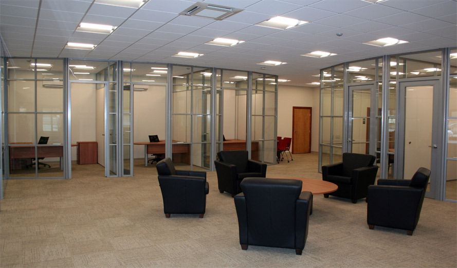 NxtWall glass wall systems
