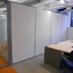 Chicago, IL - Solid Panel Office Side Walls