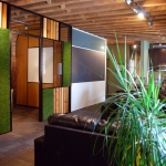 Chicago Flex series offices with lounge area