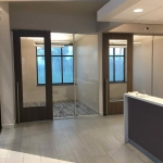 Demountable walls Credit Union Flex Series installation