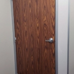 English Oak Laminate Door Flex Series Demountable Wall