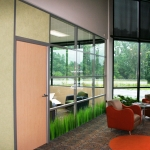 Flex Series Glass Fronts with Solid Core Door
