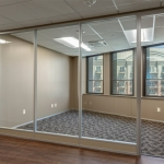 Architectural Glass Office Walls for Tenant/Landlord Space