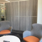 Flex Series with Formica Fox Teakwood Laminate Wall Panels