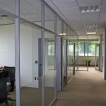Flex series glass fronts and Clerestory with Demising Walls