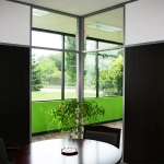 Flex Series Movable Walls Office with  Mixed Solid and Glass Panels