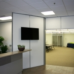 Flex series reception wall