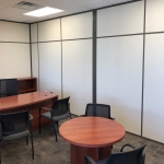 Flex Series solid interior demontable office walls