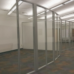 Freestanding Curved Flex Glass Walls