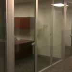 Floor to Ceiling Frameless Glass Door - Washington, DC
