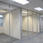 Full Height Glass Offices - Flex Series