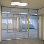 Glass front private offices - Flex Series