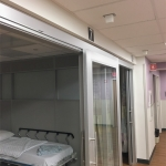 Healthcare patient rooms - NxtWall Flex Series