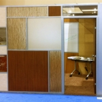 IFMA World Workplace booth featuring NxtWall's Flex Series