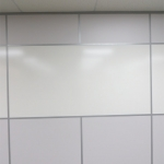 Integrated whiteboard wall - Flex Series