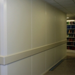 MSU Library Solid Walls with Custom Extrusion Finish