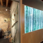 Modern Backlit LED Lighting Wall - NxtWall Chicago Showroom