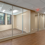 NxtWall Flex Series with Power Channel and Glass