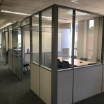 Solid and glass free standing offices - Flex Series