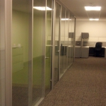 Anodized Aluminum and Glass Offices