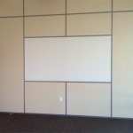 Built in Whiteboard Office Wall Solid Paneling - Flex Series by NxtWall