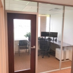 Wood Frame Door with Full-Lite Glass - Flex Series