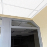 Column wrap integrated demountable walls - Flex Series