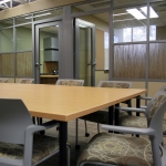 Conference room and Flex series offices