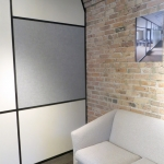 Solid panel side wall with adaptable/flexible wall start
