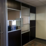 Corner office - Flex series wall system