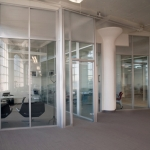 Flex Series Demountable Wall Flexible Glass Offices