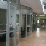 Flexible Radiused Glass Fronts for Higher Education