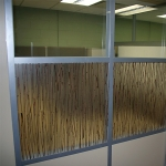 Transluscent designer wall panels and integrated whiteboard