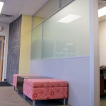 Clerestory and Frosted Glass Panels