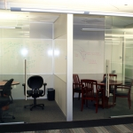 Flex - Glass Meeting Rooms with Sliding Glass Doors