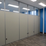 Flex series walls in a University classroom application