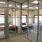 Glass private offices - Flex series by NxtWall