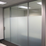 Demising Wall Integrated with Flex Series Fronts