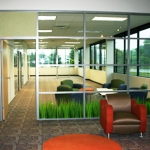 Solid Panel / Multiple Transom Glass with Custom Design
