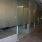 Modular power way with tempered glass wall panels